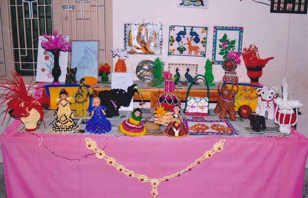 Students-Done Handicrafts