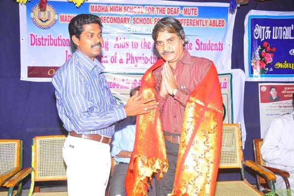The Correspondent Honour Dr.Mugamathu Jain