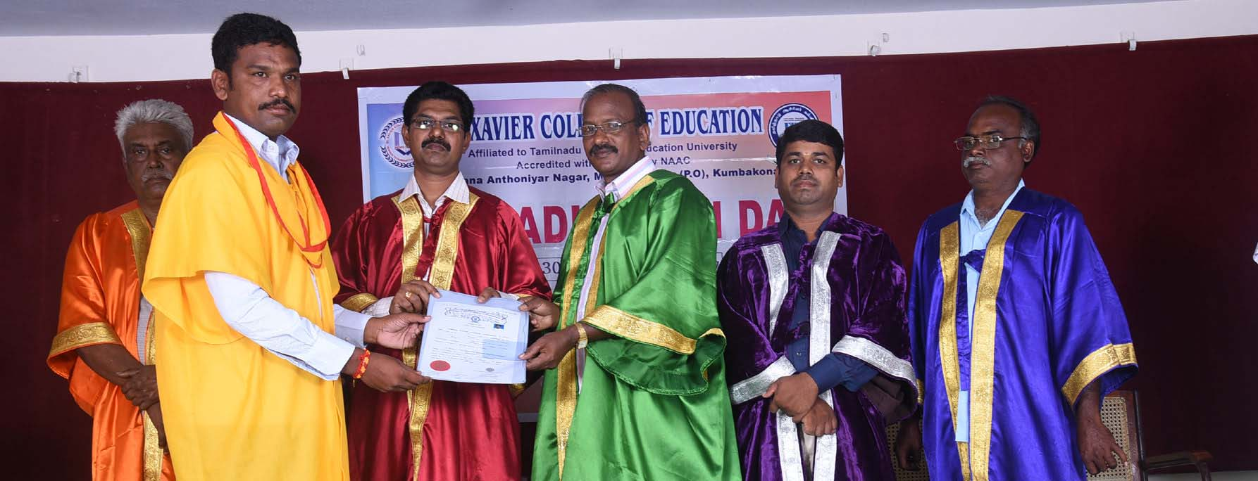 8th Graduation Day – St.Xavier College of Education
