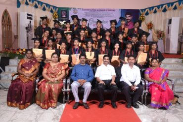 St.Xavier School & College of Nursing Graduation Ceremony on 2018