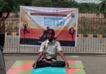 International Yoga Day 2018 Celebrated  in St.Antony Matric School